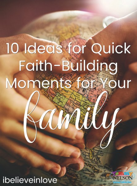 quick faith-building moments