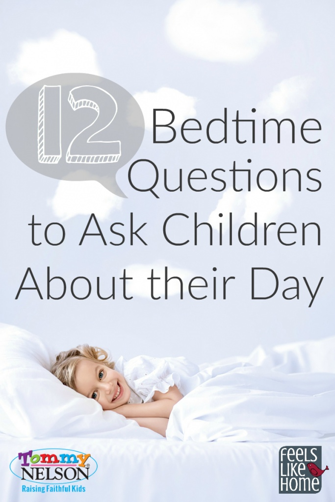 12 Bedtime Questions to Ask Children About Their Day
