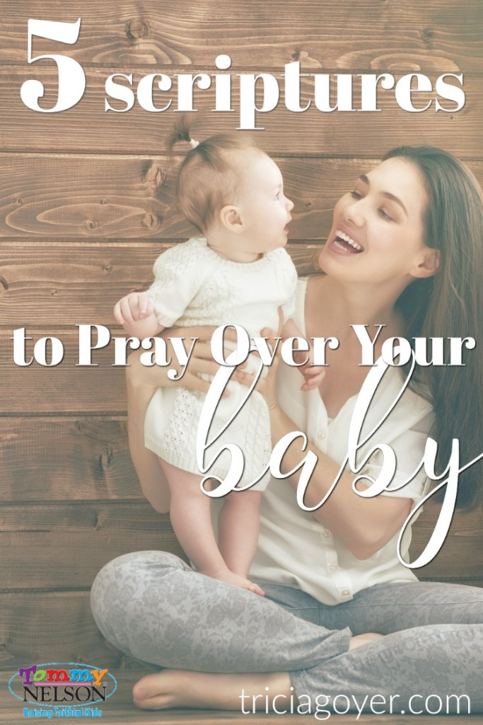 Bible verses to read to your new baby.