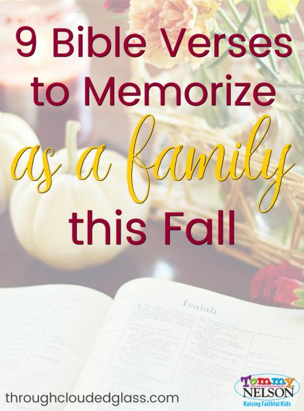 Bible Verses to Memorize as a Family