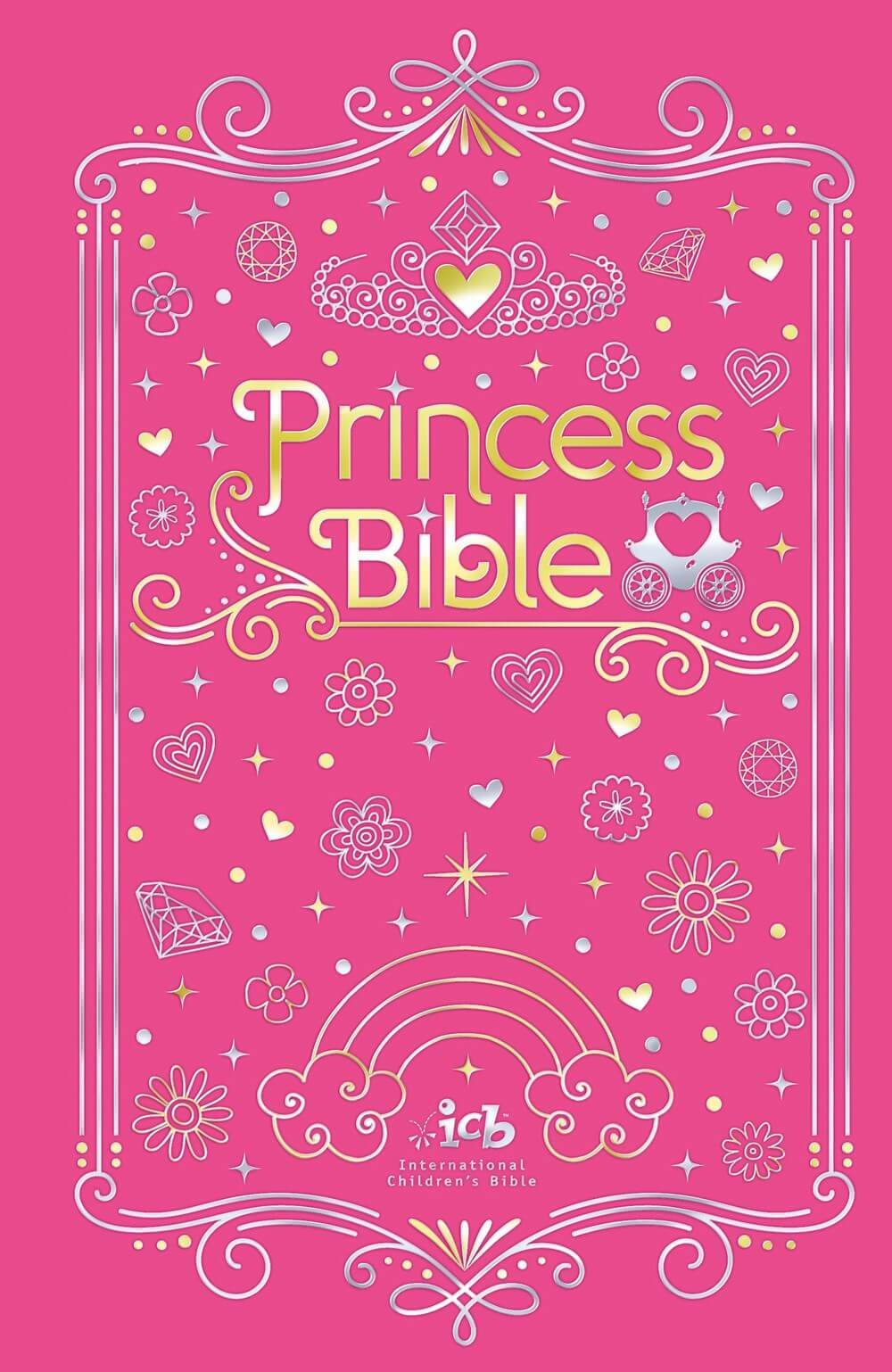 ICB Princess Bible with Coloring Sticker Book - Tommy Nelson