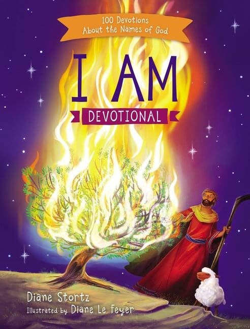 I Am Devotional by Diane Stortz Cover