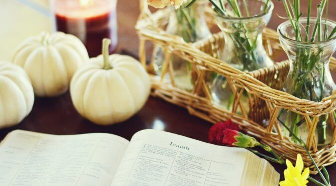 9 Bible Verses To Memorize as a Family This Fall