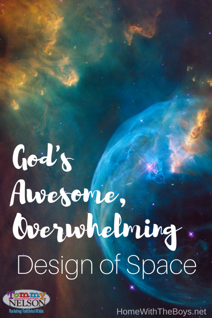 God's Awesome, Overwhelming Design of Space