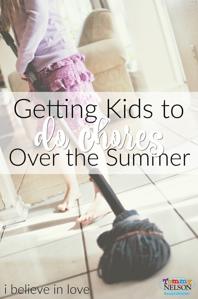 Getting Kids to Do Chores Over the Summer
