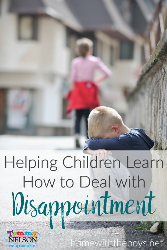Helping Children Learn How to Deal with Disappointment