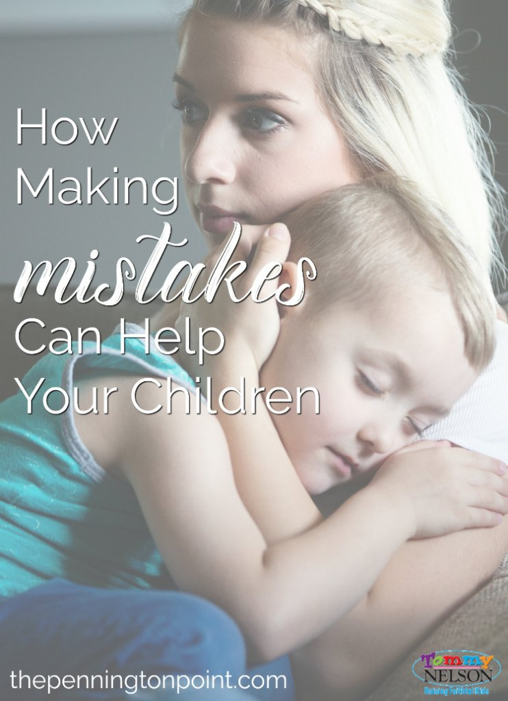 How making mistakes can help your children learn grace and forgiveness. Letting kids see that God is our answer reminds them he is their answer too!