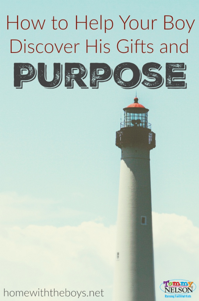 How to Help Your Boy Discover His Gifts and Purpose