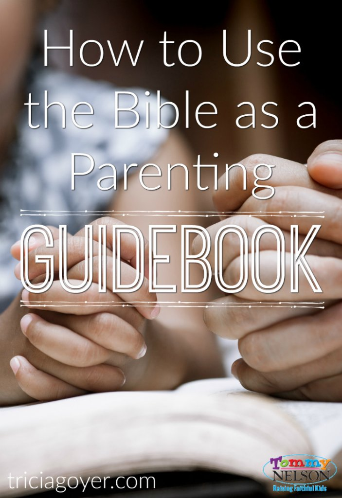 How to use the Bible as a parenting guidebook. Start with these four challenges kids face and scripture to arm them with truth.