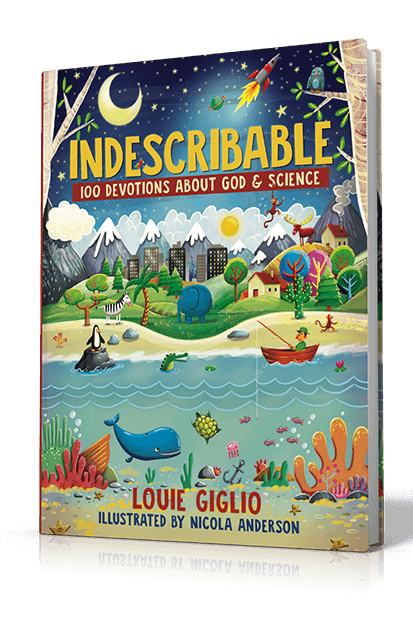 Indescribable book Louie Giglio