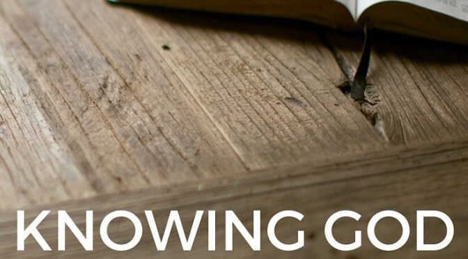 Naming Names and Knowing God