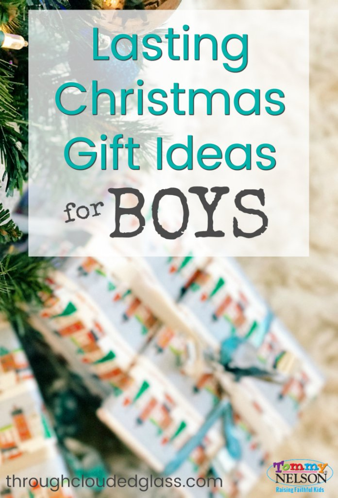 Great list of Christmas Gift Ideas For Boys that will last!