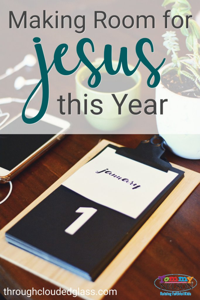 Love this encouragement about making room for Jesus when we evaluate new year goals.