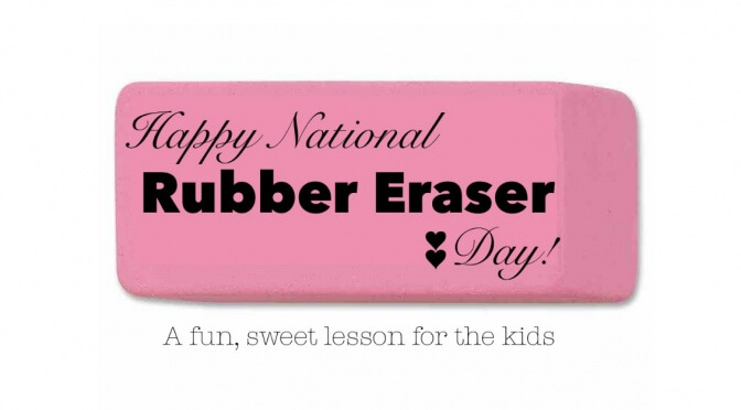 Happy National Rubber Eraser Day!