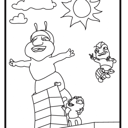 Hermie pages coloring pages for Hermie and friends coloring pages