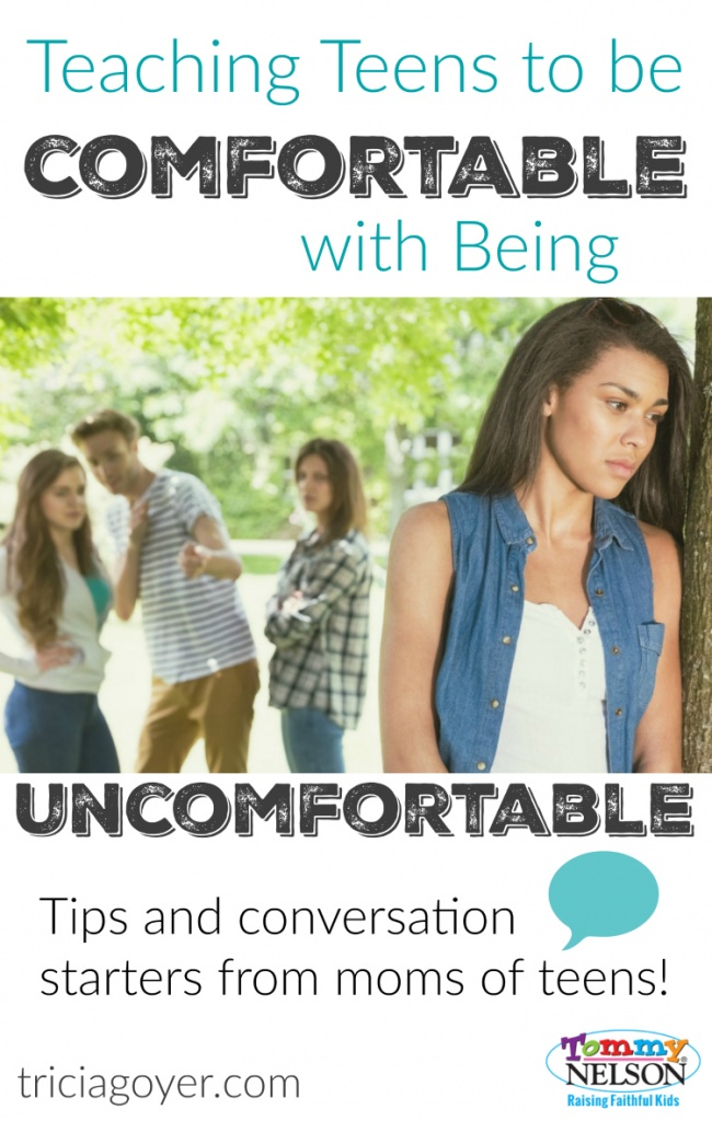 Teaching Teens to be Comfortable with Being Uncomfortable