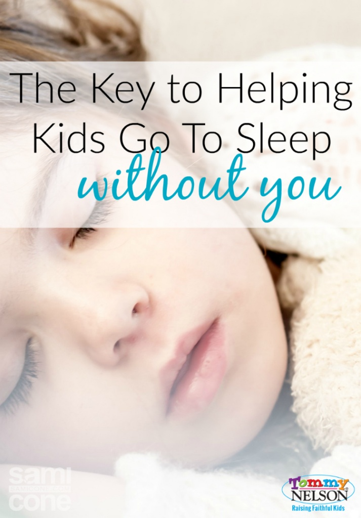 The Key to Helping Kids Go to Sleep