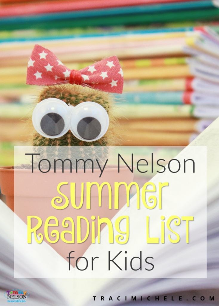 Tommy Nelson Summer Reading List for Kids
