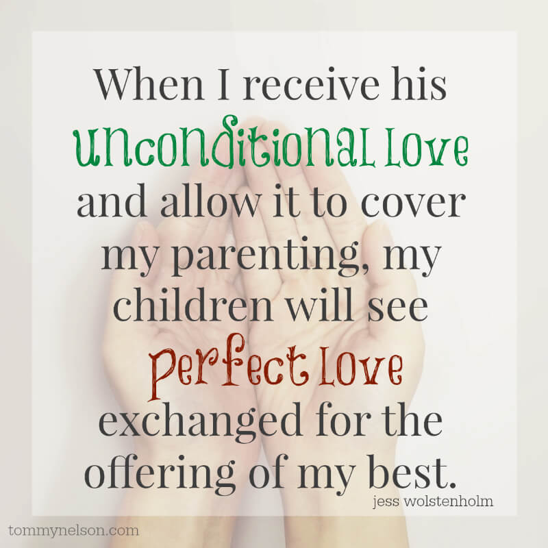 Adult Children Of God Who Live In The Light Of His Incredible Love Have The  Only Chance Of Bestowing This Gift On Their Children. Unconditional Love  Quote