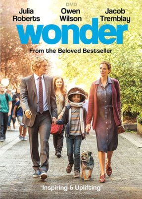 Wonder is out on DVD! This is the perfect family movie!