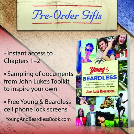 Young and Beardless, Pre-order, gifts