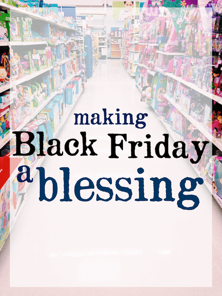 Making Black Friday A Blessing