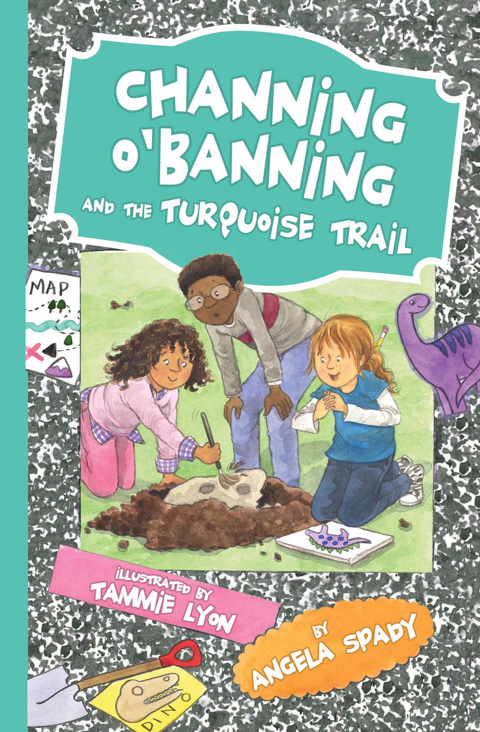 Channing O'Banning and the Turquoise Trail cover