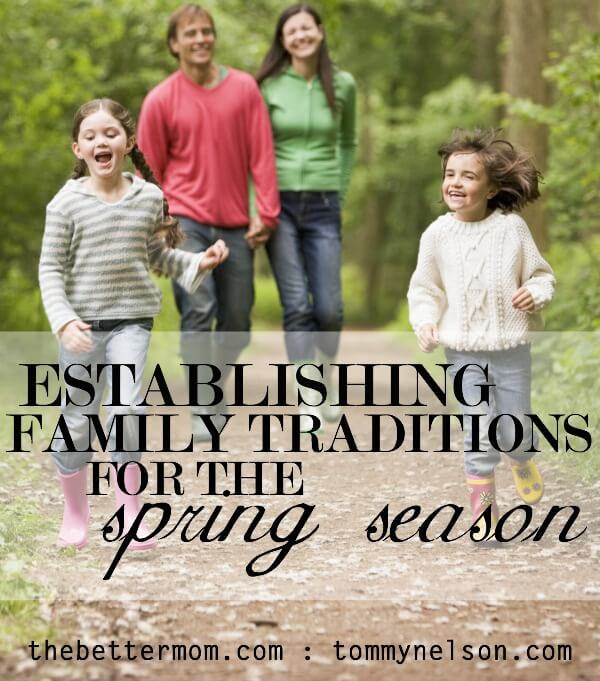 establishing family traditions
