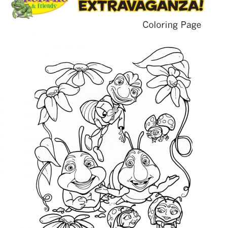 """Hermie & Friends"" Coloring Pages"
