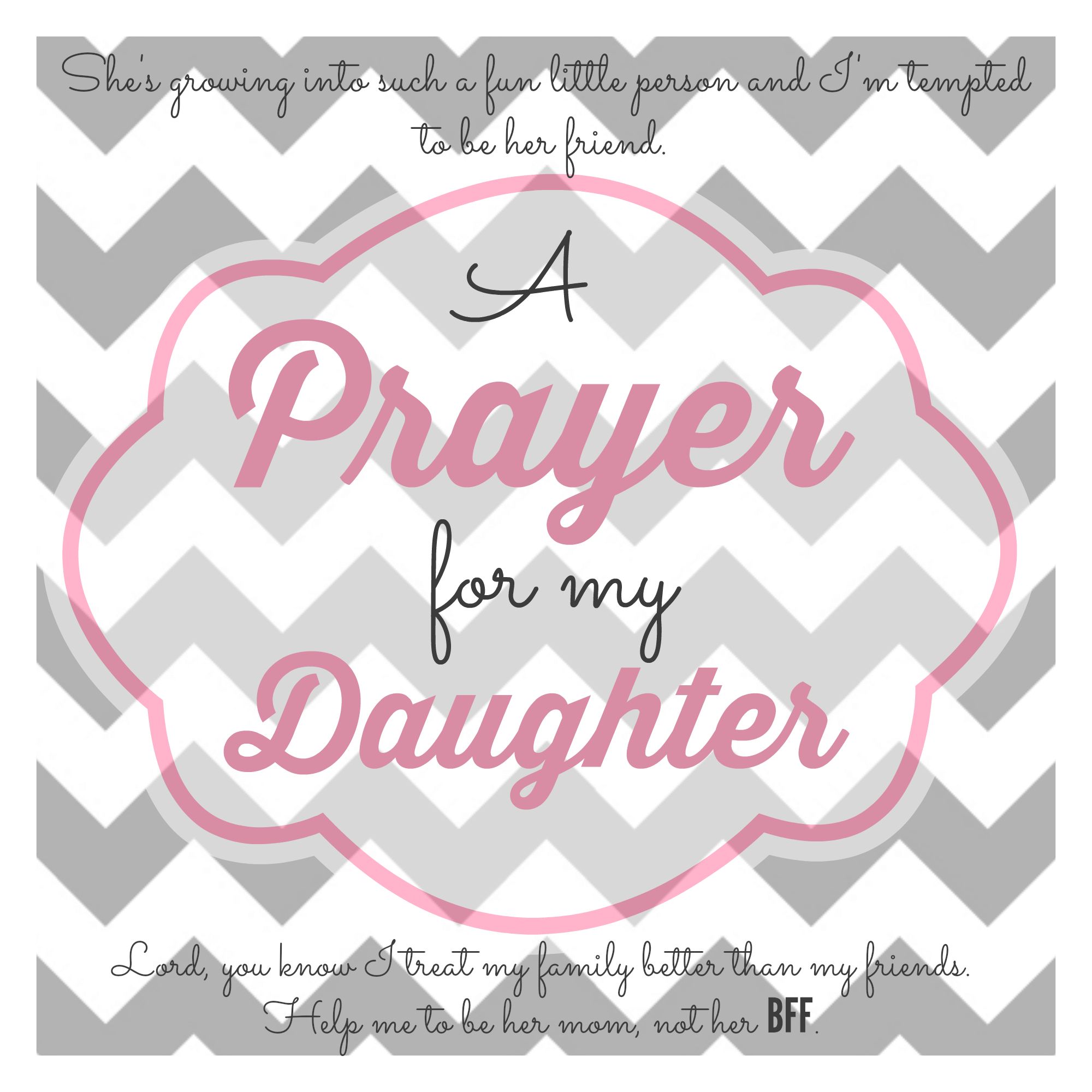 A Prayer for My Little Girls