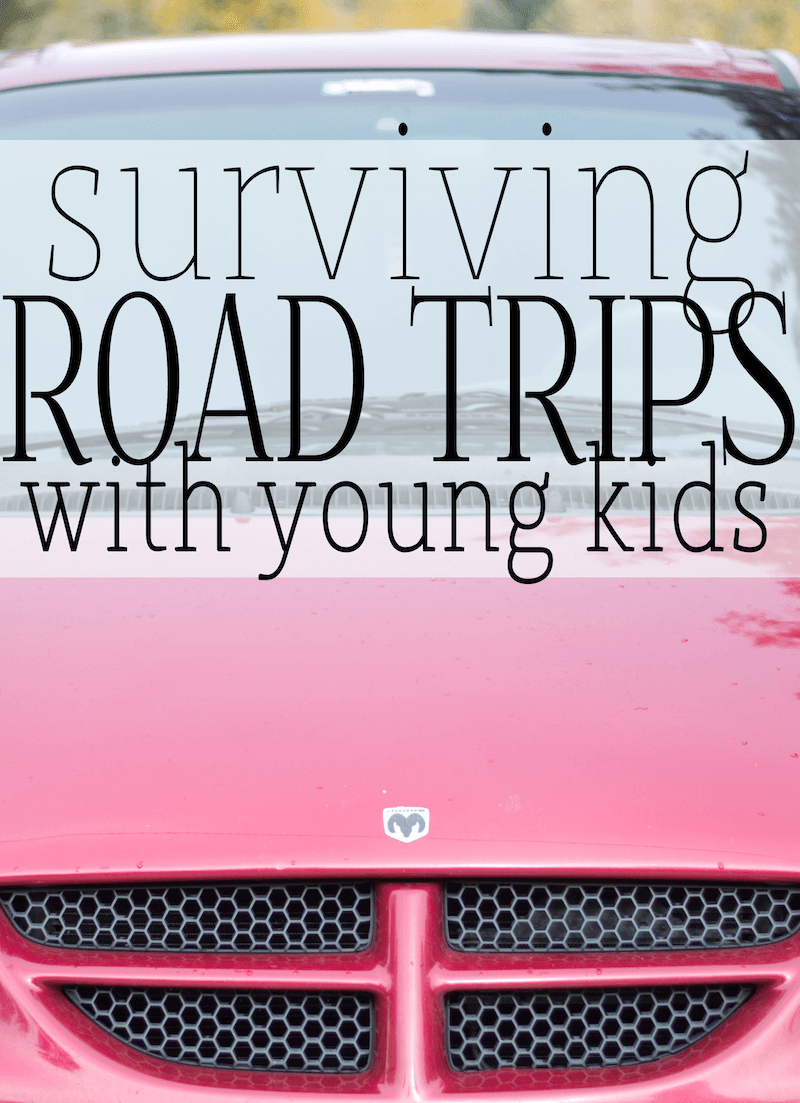 Surviving A Road Trip With Young Kids